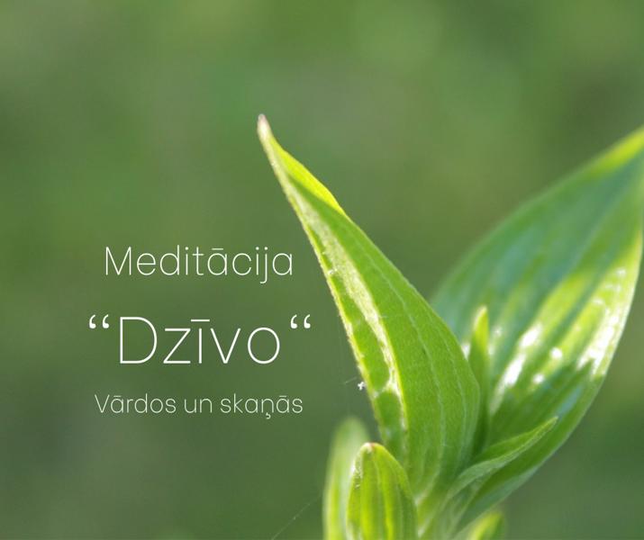 """Meditācija """"DZĪVO"""""""